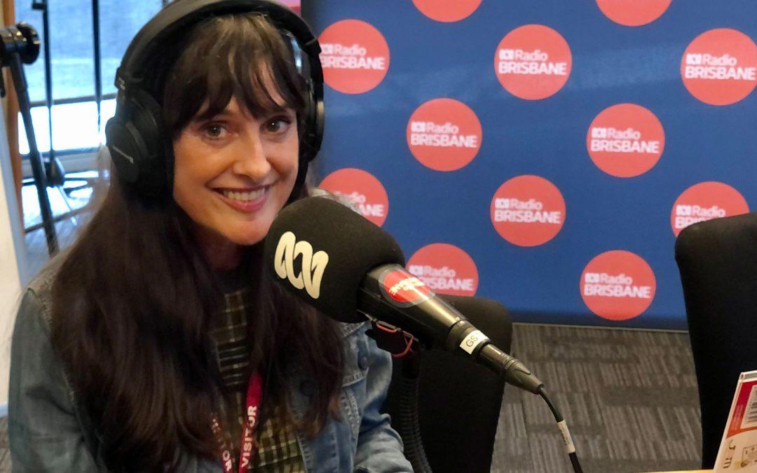 Interview on ABC Radio Brisbane
